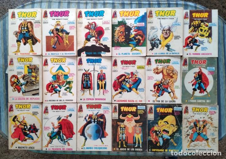 Cómics: THOR VOL. 1 (COLECCION COMPLETA) - LOPEZ ESPI (VERTICE 1970) - Foto 3 - 173245404