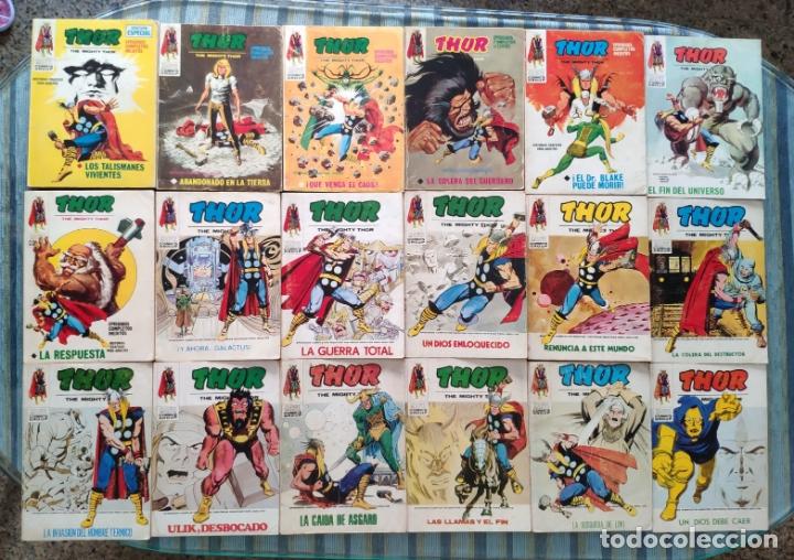 Cómics: THOR VOL. 1 (COLECCION COMPLETA) - LOPEZ ESPI (VERTICE 1970) - Foto 4 - 173245404