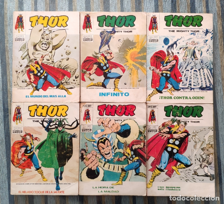 Cómics: THOR VOL. 1 (COLECCION COMPLETA) - LOPEZ ESPI (VERTICE 1970) - Foto 5 - 173245404