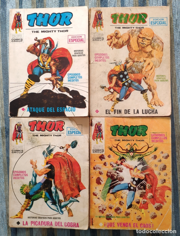 Cómics: THOR VOL. 1 (COLECCION COMPLETA) - LOPEZ ESPI (VERTICE 1970) - Foto 6 - 173245404
