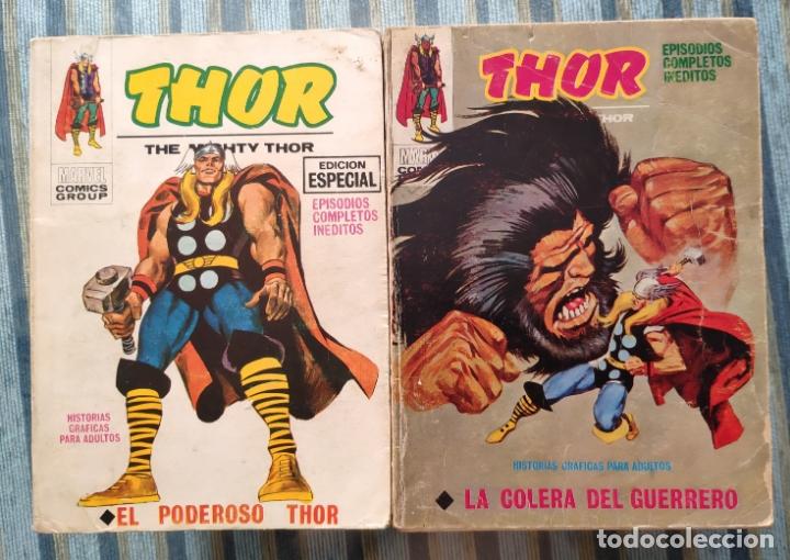 THOR VOL. 1 (COLECCION COMPLETA) - LOPEZ ESPI (VERTICE 1970) (Tebeos y Comics - Vértice - Thor)