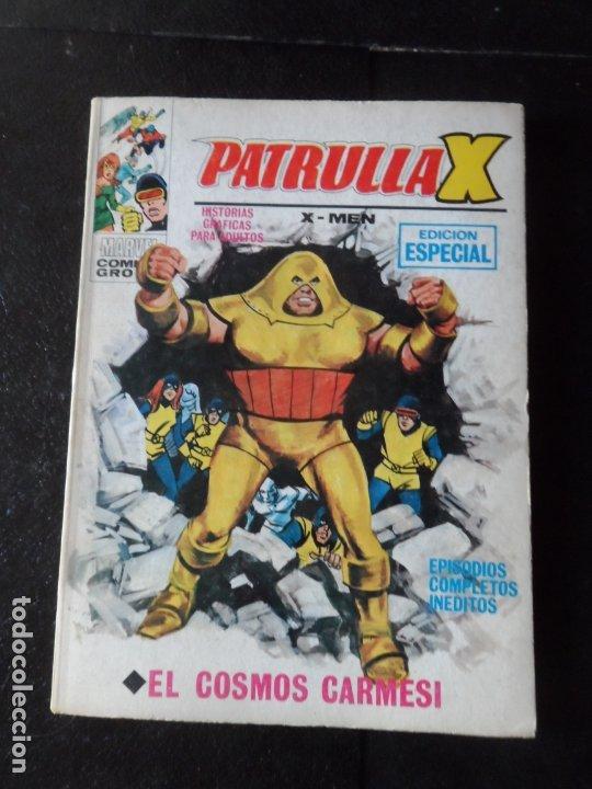 PATRULLA X Nº 14 COSMOS CARMESI VERTICE VOLUMEN 1 1969 (Tebeos y Comics - Vértice - Patrulla X)