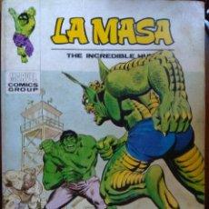 Cómics: LA MASA Nº 34 - VÉRTICE TACO. Lote 173360228