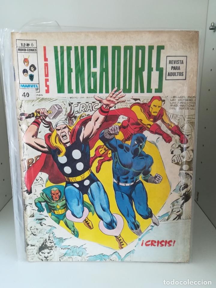 LOS VENGADORES VOL. 2 - Nº 6 - VERTICE (Tebeos y Comics - Vértice - Vengadores)