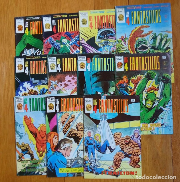 LOS 4 FANTÁSTICOS (VOL 3) 18 AL 33 (Tebeos y Comics - Vértice - V.3)