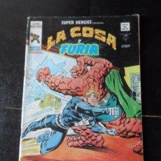 Comics: SUPER HEROES Nº 40 LA COSA Y CORONEL FURIA EDICIONES VERTICE 1977 . Lote 173451974