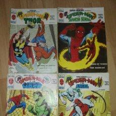 Cómics: CUATRO NÚMEROS 'ESPECIAL SUPER HEROES'. Lote 173466807