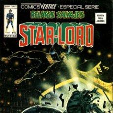 Comics : RELATOS SALVAJES-61: STAR-LORD (VERTICE, 1979): UNA CUESTIÓN DE NECESIDAD. Lote 173481994