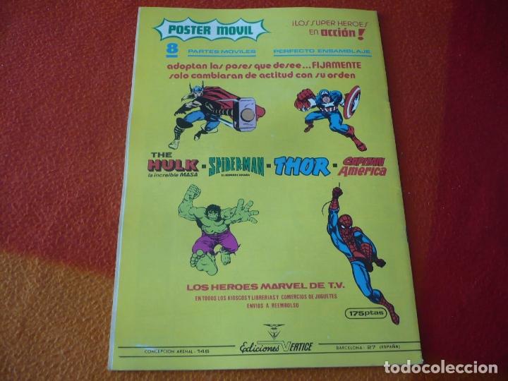 Cómics: SUPERHEROES PRESENTA VOL. 1 Nº 131 LA COSA Y LA BRUJA ESCARLATA ¡BUEN ESTADO! MARVEL VERTICE - Foto 2 - 173492043