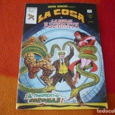 Comics : SUPERHEROES PRESENTA VOL. 1 Nº 131 LA COSA Y LA BRUJA ESCARLATA ¡BUEN ESTADO! MARVEL VERTICE. Lote 173492043