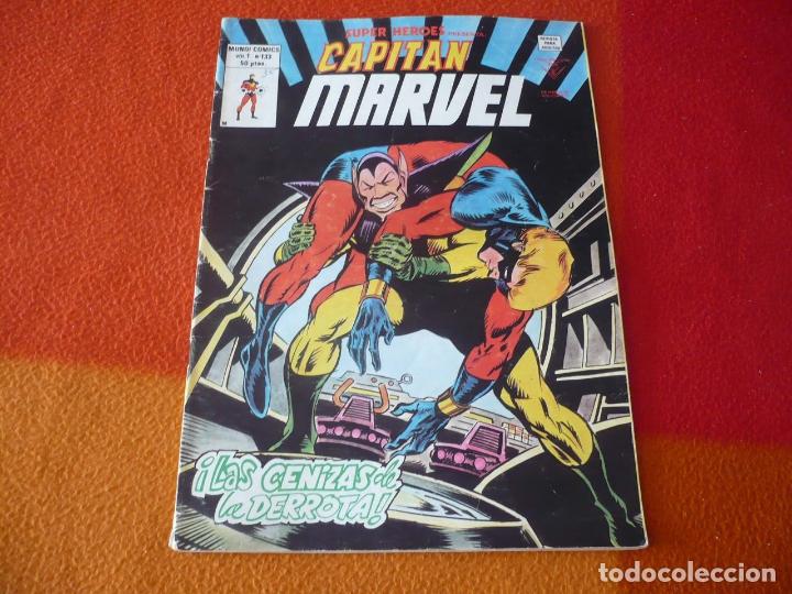 SUPER HEROES PRESENTA VOL. 1 Nº 133 CAPITAN MARVEL MARVEL VERTICE MUNDI COMICS (Tebeos y Comics - Vértice - Super Héroes)