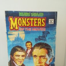 Cómics: MONSTERS OF THE MOVIES ESPECIAL SOBRE VAMPIROS Nº 46 RELATOS SALVAJES V.1. Lote 173534855