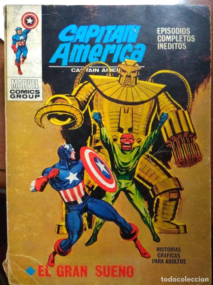 CAPITAN AMERICA Nº 24 - VERTICE TACO (Tebeos y Comics - Vértice - Capitán América)