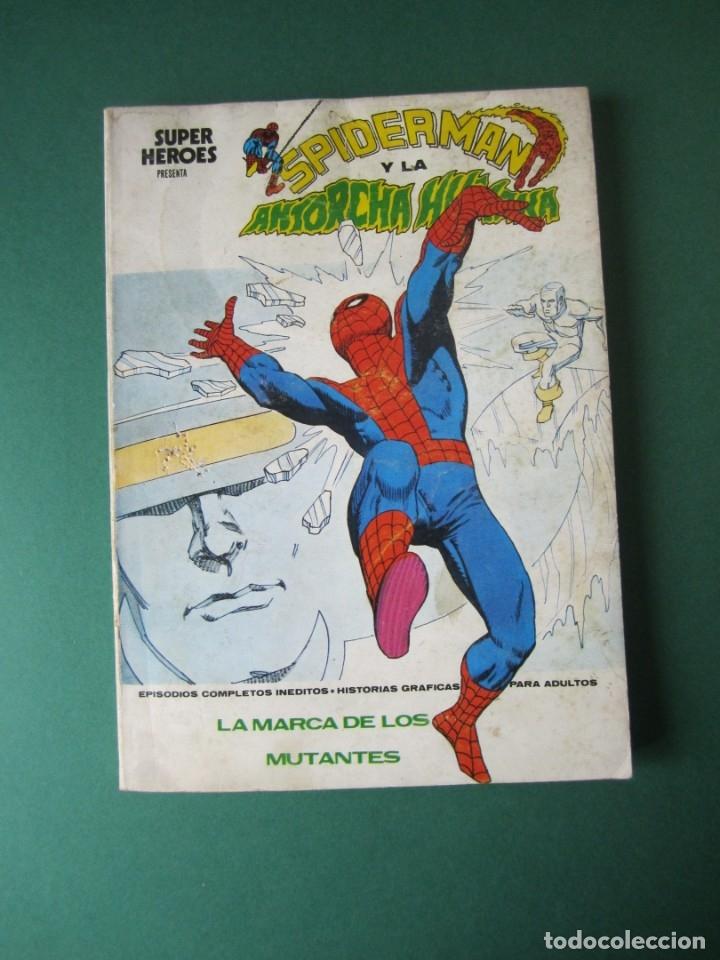 SUPER HEROES (1973, VERTICE) 6 · V-1974 · LA MARCA DE LOS MUTANTES (Tebeos y Comics - Vértice - Super Héroes)
