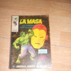 Cómics: LA MASA THE INCREDIBLE HULK Nº 14 - MORIRAS, HOMBRE DE HIERRO - TACO / VERTICE. Lote 173811417