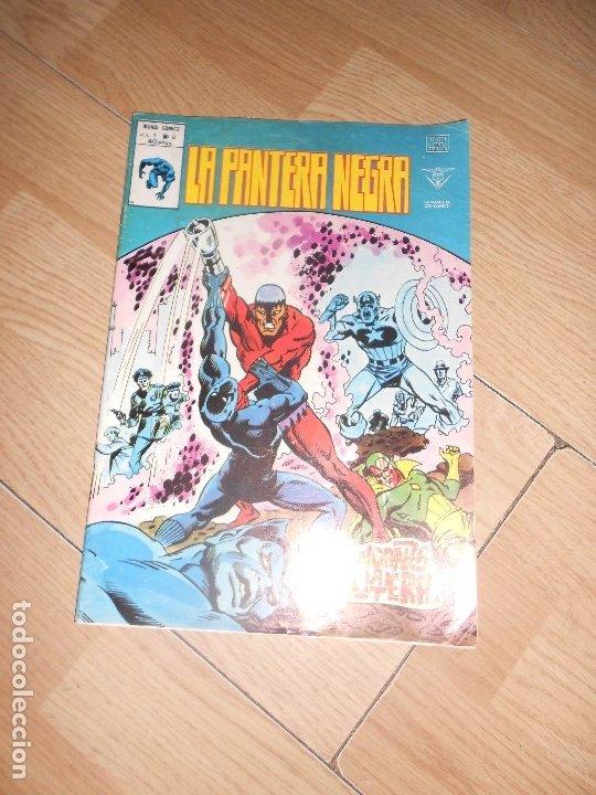 LA PANTERA NEGRA V.1 Nº 8 - VERTICE (Tebeos y Comics - Vértice - V.1)