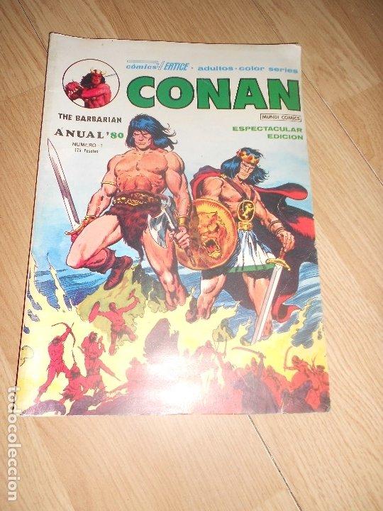 CONAN Nº 1 - ANUAL 80 - VERTICE (Tebeos y Comics - Vértice - Conan)