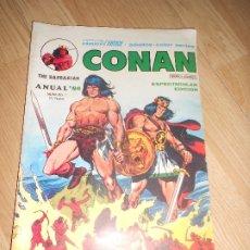 Cómics: CONAN Nº 1 - ANUAL 80 - VERTICE. Lote 173874463