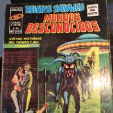 Cómics: RELATOS SALVAJES - Nº 3 - VERTICE - MUNDOS DESCONOCIDOS -¡¡USO NORMAL!! (VER FOTOS). Lote 173874580