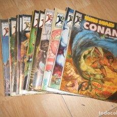 Cómics: CONAN EL BARBARO / RELATOS SALVAJES VOL. 1 - LOTE 13 NUMEROS - VERTICE. Lote 173874730
