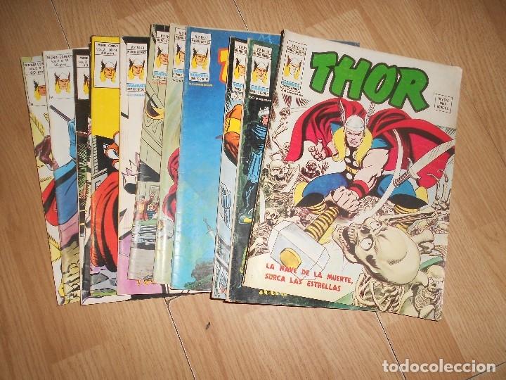 THOR VOL. 2 - LOTE 13 NUMEROS - VERTICE (Tebeos y Comics - Vértice - Thor)