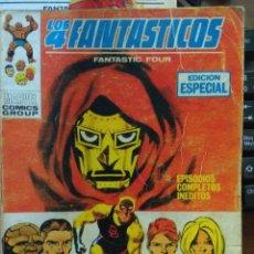 Cómics: LOS 4 FANTASTICOS Nº 20 - VÉRTICE TACO - 126 PAGS FALTA GALERIA MARVEL. Lote 173890187