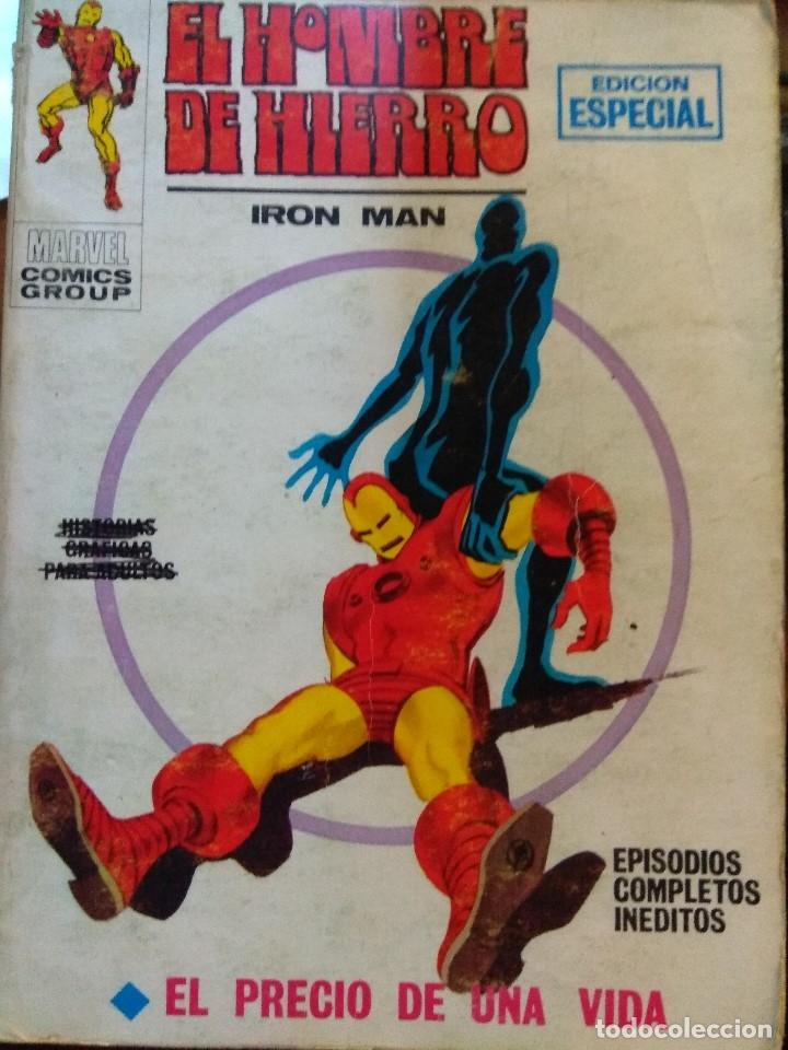 EL HOMBRE DE HIERRO Nº 8 - VÉRTICE TACO (Tebeos y Comics - Vértice - Hombre de Hierro)