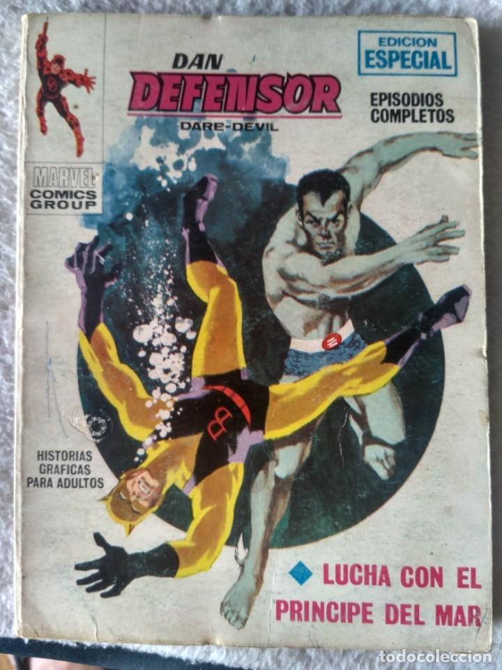 VERTICE TACO DAN DEFENSOR VOL. V.1 Nº 4- LUCHA CON EL PRÍNCIPE DEL MAR. (Tebeos y Comics - Vértice - Dan Defensor)