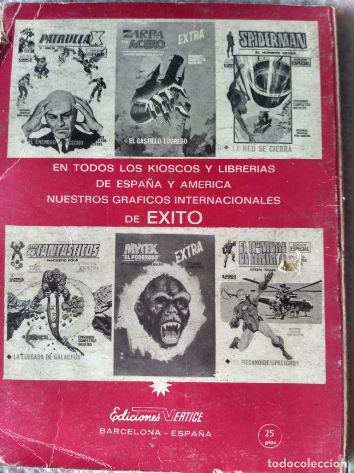 Cómics: VERTICE TACO DAN DEFENSOR VOL. V.1 Nº 4- LUCHA CON EL PRÍNCIPE DEL MAR. - Foto 2 - 173896695