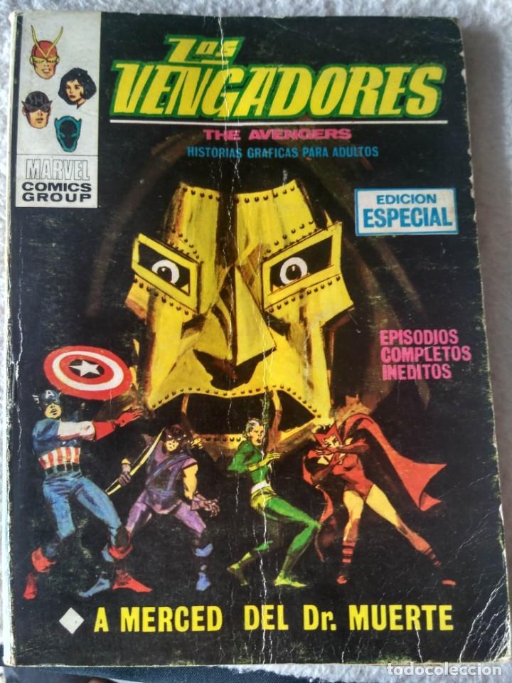 VERTICE TACO LOS VENGADORES VOL. 1 Nº 11 - A MERCED DEL DOCTOR MUERTE. (Tebeos y Comics - Vértice - Vengadores)