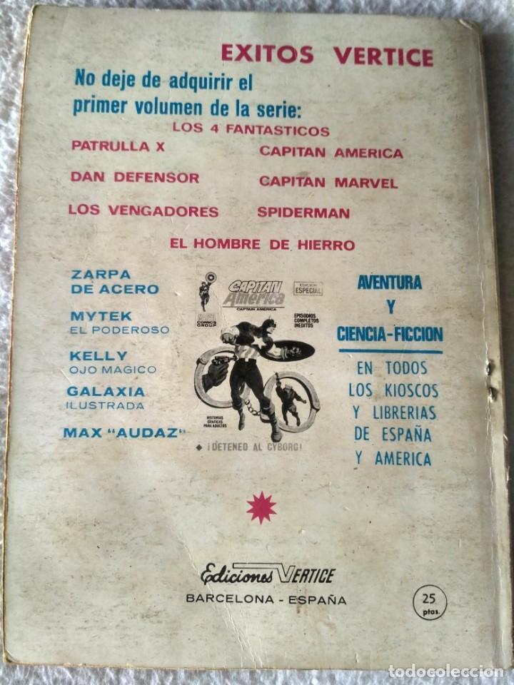 Cómics: VERTICE TACO LOS VENGADORES VOL. 1 Nº 11 - A MERCED DEL DOCTOR MUERTE. - Foto 2 - 173897383