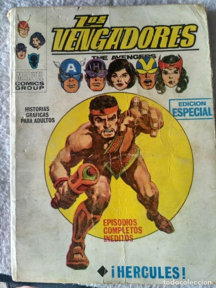 VERTICE TACO LOS VENGADORES VOL.1 Nº 17 - HERCULES. (Tebeos y Comics - Vértice - Vengadores)
