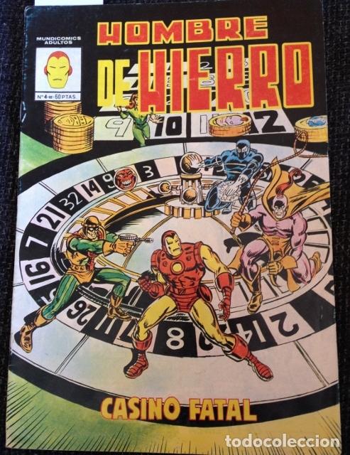 HOMBRE DE HIERRO Nº 4. (Tebeos y Comics - Vértice - Hombre de Hierro)