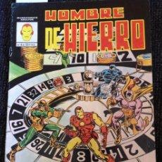 Cómics: HOMBRE DE HIERRO Nº 4.. Lote 173698205