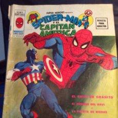 Cómics: SPIDERMAN Y EL C. AMERICA - Nº 8 - VERTICE - ¡¡USO NORMAL !! (VER FOTOS). Lote 173931857