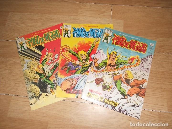 PUÑO DE HIERRO VOL. 1 - LOTE 3 NUMEROS - VERTICE (Tebeos y Comics - Vértice - V.1)