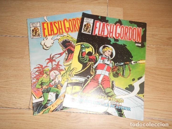 FLASH GORDON VOL. 2 - LOTE 2 NUMEROS - VERTICE (Tebeos y Comics - Vértice - Flash Gordon)