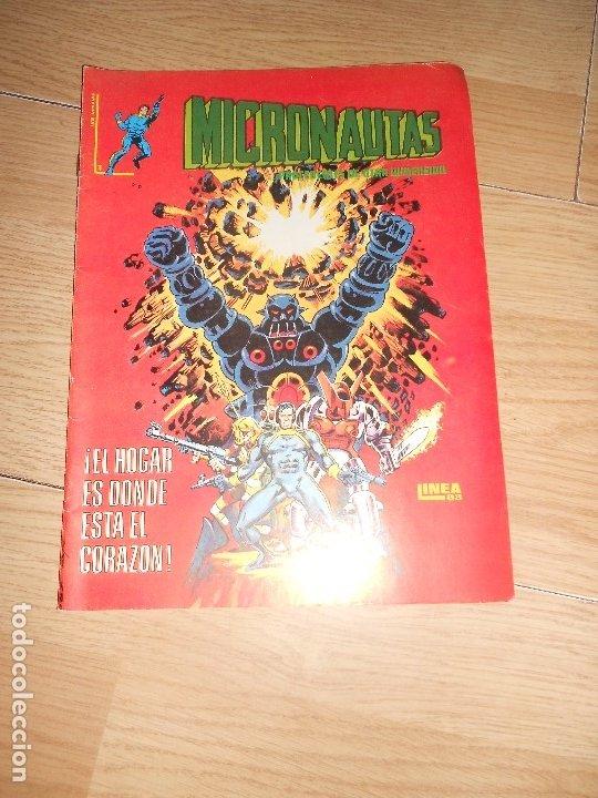 MICRONAUTAS Nº 1 - SURCO / VERTICE (Tebeos y Comics - Vértice - Surco / Mundi-Comic)