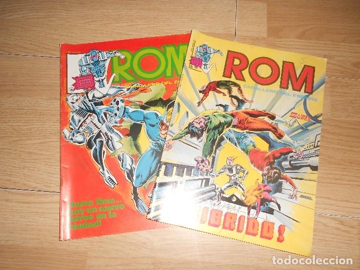 ROM CABALLERO DEL ESPACIO - LOTE 2 NUMEROS - VERTICE (Tebeos y Comics - Vértice - Surco / Mundi-Comic)