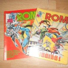 Cómics: ROM CABALLERO DEL ESPACIO - LOTE 2 NUMEROS - VERTICE. Lote 173933774