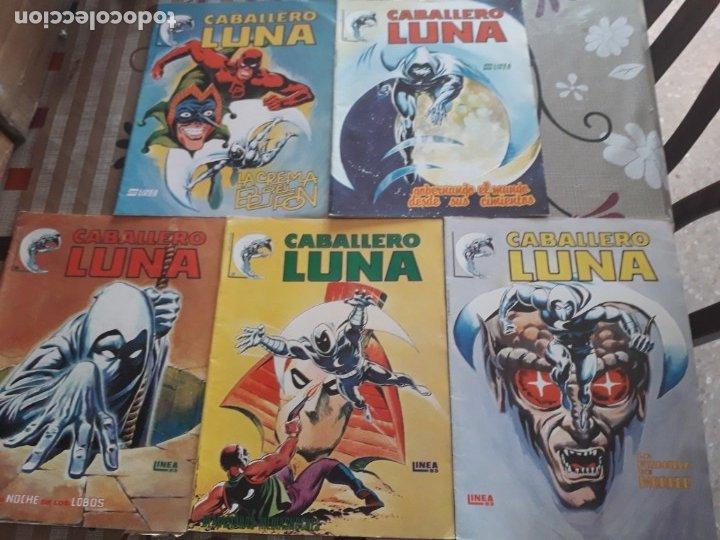 CABALLERO LUNA N-2-3-4-5-6 EDITORIAL SURCO (Tebeos y Comics - Vértice - Surco / Mundi-Comic)