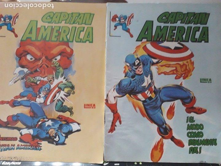 CAPITAN AMERICA N-2 N-4 SURCO (Tebeos y Comics - Vértice - Surco / Mundi-Comic)