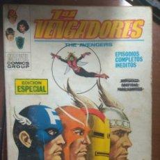 Cómics: LOS VENGADORES Nº 7 - VÉRTICE TACO. Lote 174002449
