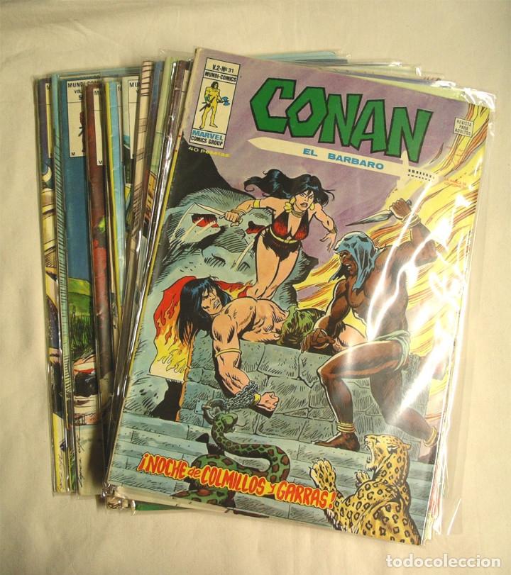 LOTE 16 CÓMICS CONAN VOL2, Nº 6, 18, 27, 28, 31, 32, 34, 35, 36, 37, 38, 39, 40, 41, 42 Y 43 (Tebeos y Comics - Vértice - Conan)