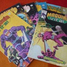 Cómics: MAQUINA VITAL 1, 2, 3, 4, 5 Y 6 ¡COMPLETA! ( KIRBY ) VERTICE MUNDI COMICS MARVEL. Lote 174011744