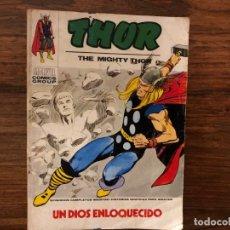 Cómics: THOR. UN DIOS ENLOQUECIDO. EDICIONES VÉRTICE. TACO . 1970. 1ª EPOCA. Lote 174157969