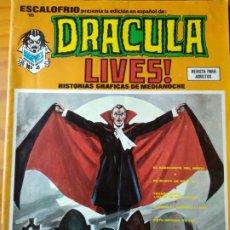 Cómics: DRACULA LIVES! Nº 4 - ESCALOFRIO PRESENTA 15- VERTICE -. Lote 174160328