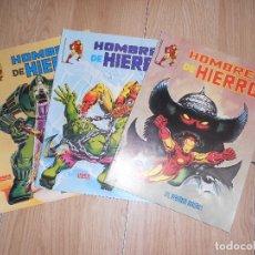 Cómics: HOMBRE DE HIERRO - LOTE 3 NUMEROS - SURCO / VERTICE. Lote 174173285