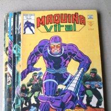 Cómics: MAQUINA VITAL COLECCIÓN COMPLETA 6 NÚMEROS - 1980 - LEE KIRBY WOLMAN DULCET. Lote 174190777