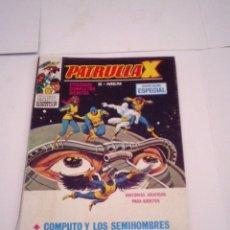 Cómics: PATRULLA X - VERTICE - VOLUMEN 1 - NUMERO 21 - 25 PESETAS - BUEN ESTADO -CJ 75 - GORBAUD. Lote 174208747